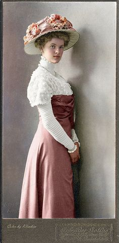 German lady, Bonn, 1909 | Olga | Flickr