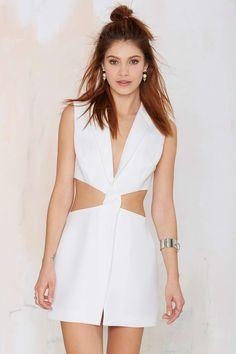 9 to 5 Cutout Blazer Dress