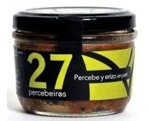 Pate de Percebes con Erizos. #marenostrumgourmet Coffee Cans, Canning, Spanish, Food, Gastronomia, Colorful, Gourmet, Liqueurs, Preserve