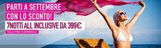 #Settembre è il mese giusto per #vacanze in totale #relax. Partite con noi! http://www.it.lastminute.com/site/viaggi/vacanze #viaggi #travel #lastminute
