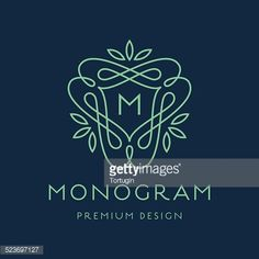 523697127-simple-line-art-monogram-logo-design-gettyimages.jpg (414×414)