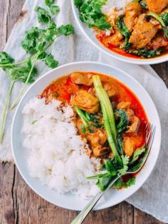 Red Curry Chicken recipe by the Woks of Life, is as easy as cooking gets. With fewer than 10 ingredients, you'll be enjoying this fragrant curry in less than a half hour. Soup Recipes, Chicken Recipes, Dinner Recipes, Cooking Recipes, Tagine Recipes, Zoodle Recipes, Casserole Recipes, Indian Food Recipes, Asian Recipes