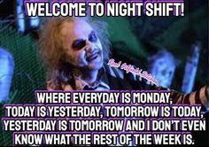 27 Relatable Night Shift Memes For All Nurses - Humor Night Nurse Humor, New Nurse Humor, Night Shift Humor, Night Shift Nurse, Funny Nurse Quotes, Medical Humor, Night Shift Quotes, Working Night Shift, Funny Medical