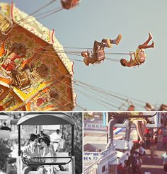 Fun Carnival or Fair Engagement Shoot