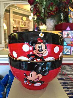 Bowls from the China Closet at Disneyland