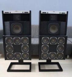 Revox famous BX 4100 speakers. Weight 50 kilo