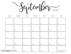 Looking for a cute, free printable September 2021 calendar? Here are some you might like! Choose your favorite from the pretty calendar designs! This one is a horizontal, Sunday start printable that you will love. #calendar #planning #printable #freeprintable #September Planner Pages, Life Planner, Printable Planner, Free Printables, Printable Calendars, 2021 Calendar, Free Calendar, Print Calendar, Blog Planning