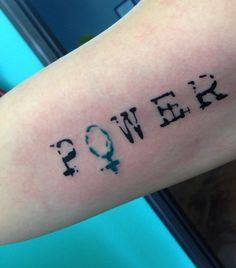 Power tattoo