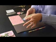 Video tutorial: Anna Griffin --  Heat Wave Pen Tool How to - foil embellishment - YouTube