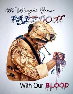 Freedom is NOT free. I get choked up on two things and two things only. The birth of a new life, and the death of heroes. Military Veterans, Military Life, Military Girlfriend, Military Personnel, Military Service, Military Style, Rambo, My Champion, Army Mom