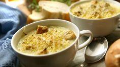Como os franceses, jante sopa de cebola