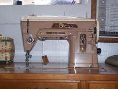 Singer 403A vintage sewing machine (circa 1958)