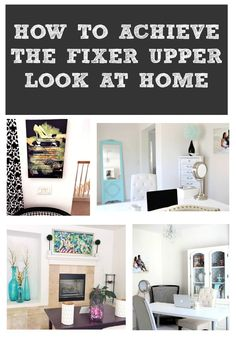 I love HGTV Fixer Upper and Joanna Gaines and put some DIY decor together in my own home and shared my same successful and easy tips.