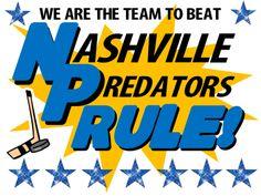 Nashville Predators Poster Idea