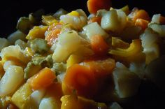 Buglione- Tuscan summer vegetable stew-- my mother-in-law's recipe