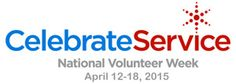 National Volunteer Week - April 12-18, 2015. #nvw2015 inspiring, recognizing and encouraging people to seek out imaginative ways to engage in their communities. It's about demonstrating to the nation that by working together, we have the fortitude to meet our challenges and accomplish our goals.  #freeprintables ResourceGuide: http://www.pointsoflight.org/sites/default/files/resources/files/nvw_celebrate_service_toolkit_22sept2015.pdf