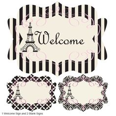 Paris Theme Party Party Kit - Beach Wedding Favors - Destination Wedding Favors