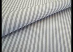 Stoff Streifen - Acryl Leinwandbindung / Taschenstoff gestreift - ein Designerstück von Zeitlos-Conni-Unsinn bei DaWanda