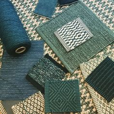 The teals have it.... #sinclairtill #kasthall #bolon #flooring #flatweaves…