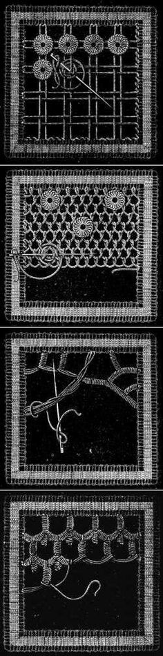 IRISH LACE NEEDLEWORK | Laço Irlandês