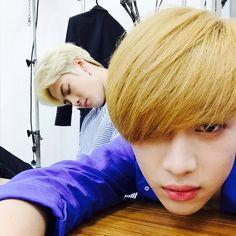 Bambam's IG with Jackson: 뻗었s..... No joke he is really sleeping ...........==
