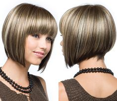 inverted bob hairstyles 2014 | How to Style Angled Inverted Bob