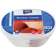 Aro Παγωτό Βανίλια Κακάο 2 Lt   €2,72