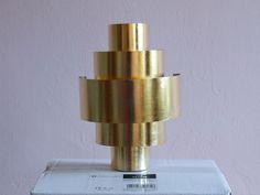 Wandlampe, Wandleuchte, 24 Karat vergoldet, Blattgold, Gold