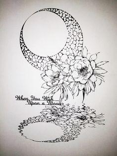 「切り絵 月下美人」/「紗妃」のイラスト [pixiv]