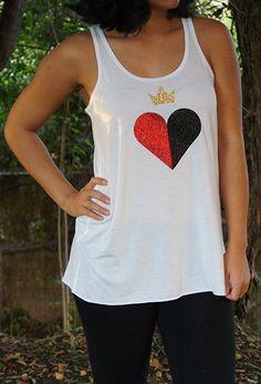 Queen of Hearts Tank Top
