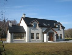 Lagan is Breedon's construction materials and contracting business in the Republic of Ireland Dormer House, Dormer Bungalow, House With Porch, My House, House Designs Ireland, Rendered Houses, Dream House Exterior, House Exteriors, Self Build Houses
