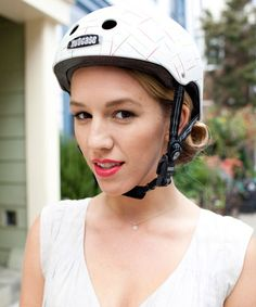 5 Gorgeous 'Dos For Cycling Chicks #refinery29   (this works for equestrians too or any sport with a helmet)  http://www.refinery29.com/33288