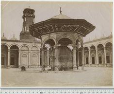 photo by Adelphoi Zangaki The architecture looked like Ottomans Armenian design Muhammad Ali, Ottomans, Mosque, Egypt, Fountain, Taj Mahal, Architecture, Building, Travel