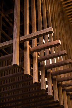 Stunning & simple Victorian Ash Battens at Lucy Liu Restaurant, Melbourne