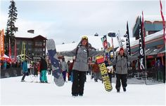 Ski and board with next year's technology at Big White's annual on-snow demo test.   #bigwhite #skigear #boardgear #skiguide #vernon #skiing #snowboarding