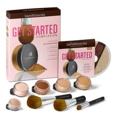 Bare Mineral Makeup Kit | Am Fabulicious: bareMinerals Skincare