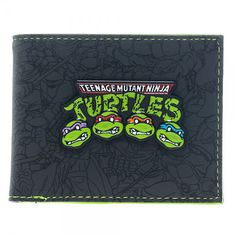 Teenage mutant #ninja turtles #group wallet bi-fold wallet - #official,  View more on the LINK: 	http://www.zeppy.io/product/gb/2/302150815923/