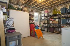 Storage Room - Located on the lower level, great space for storage.  Also able to be converted into a full size bedroom.