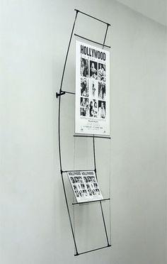 Penguin Suspender 1x poster 600x800mm + literature rack