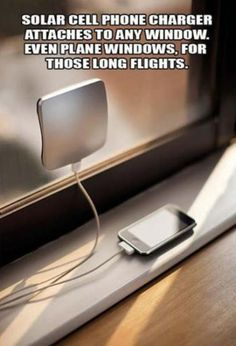 Solar cell phone chargers: useful for people on the go!