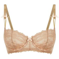 Myla Nicole Balcony Bra ($140) ❤ liked on Polyvore featuring intimates, bras, lingerie, lace bra, lace shelf bra, lacy bras, balcony bra and lace balconette bra