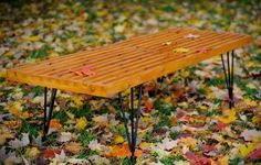 How to Make a George Nelson-Inspired Slat Bench — ManMade