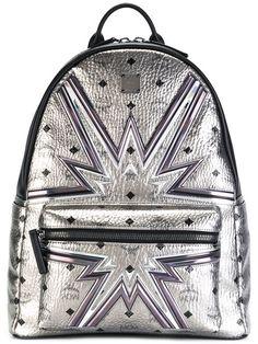 MCM рюкзак с отделкой металлик