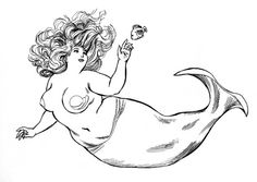 Mermaid by Paul Delacroix. Holds a special place in my heart and on my leg. :D