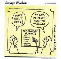 Canadian Humor: We love our beer