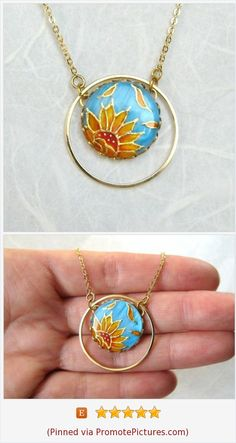 Sunflower necklace Painted by Hand Unique Christmas Gift for her Sunflower Wedding Jewelry Sunflower Bride Necklace Unique gifts for her Jewellery Uk, Jewelry Art, Jewelry Gifts, Unique Gifts For Girlfriend, Unique Gifts For Her, Sunflower Necklace, Sunflower Jewelry, Bride Necklace, Mother Of Pearl Necklace