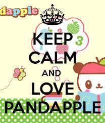 keep calm and love pandapple
