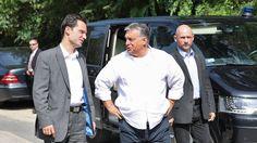 Index - Belföld - Orbán: Nem a migránsokkal van bajunk, hanem a . Chef Jackets, Van, Vans