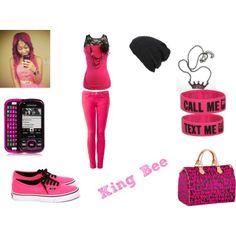 Swag is like PINK & BLACK  PRETTY