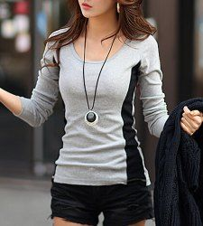 Tunic Tops For Women | Cheap Long And White Tunic Tops Online At Wholesale Prices | Sammydress.com